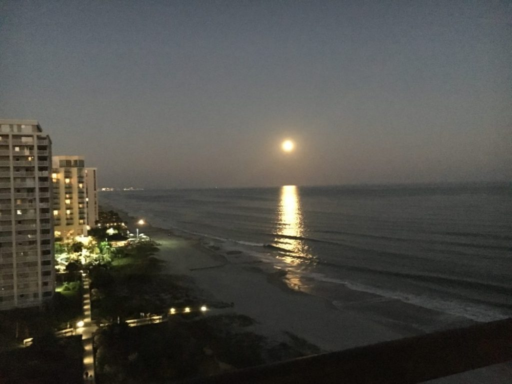 Myrtle Beach Moonrise
