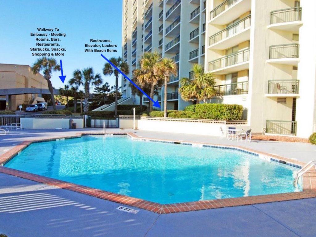 Kingston Plantation South Hampton Pool With Embassy Walkway